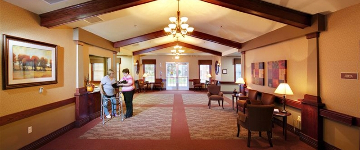 De Pere Rennes Health & Rehab Center Lobby