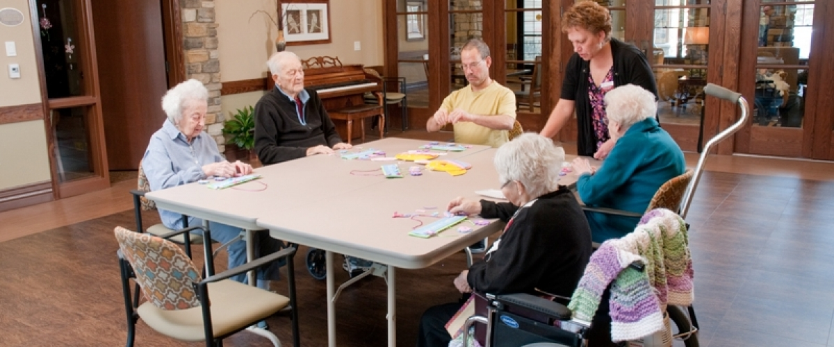 Rhinelander Rennes Health & Rehab Center Group Activities