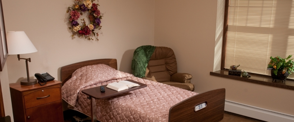 Rhinelander Rennes Health & Rehab Center Resident Room