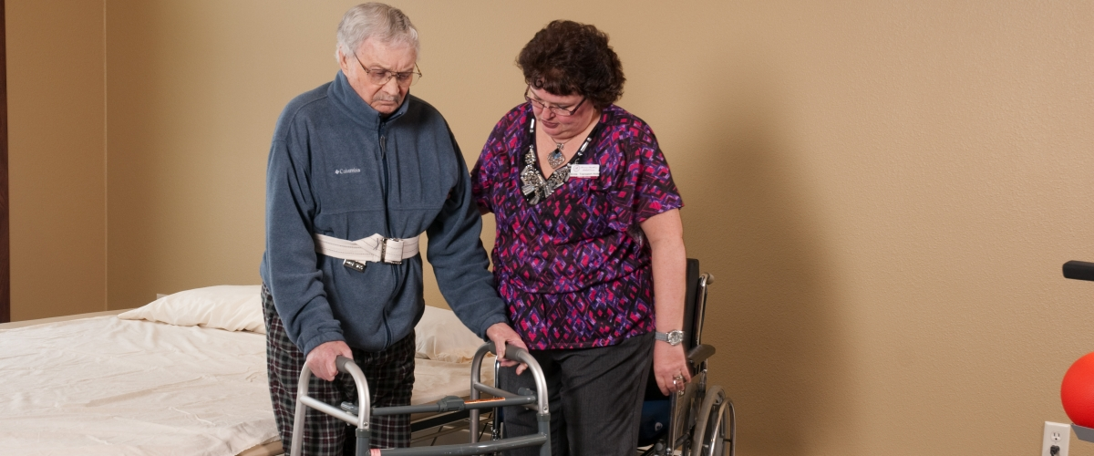 Rhinelander Rennes Health & Rehab Center Helpful Therapists