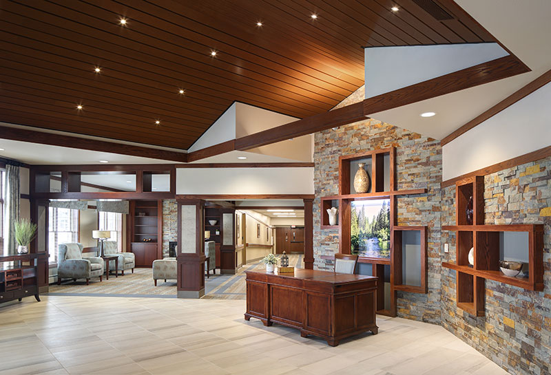 De Pere Residence by Rennes Lobby