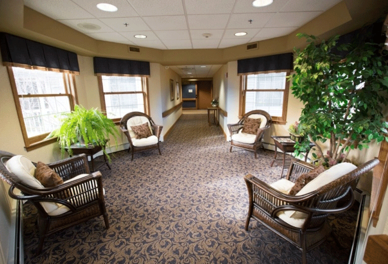 Appleton Renaissance Assisted Living Seating Area