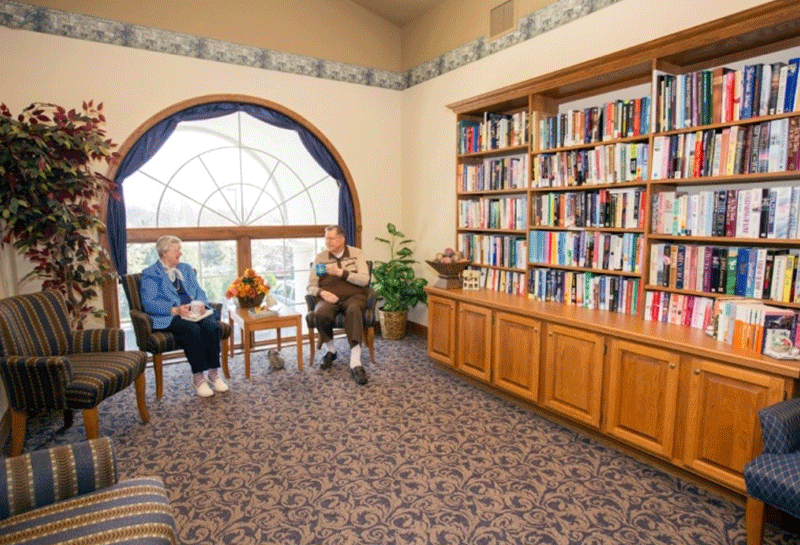 Appleton Renaissance Assisted Living Library
