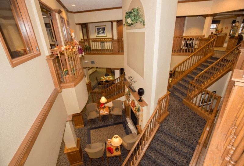 Appleton Renaissance Assisted Living Staircase