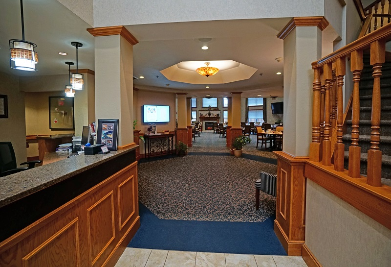 Marinette Renaissance Assisted Living Lobby