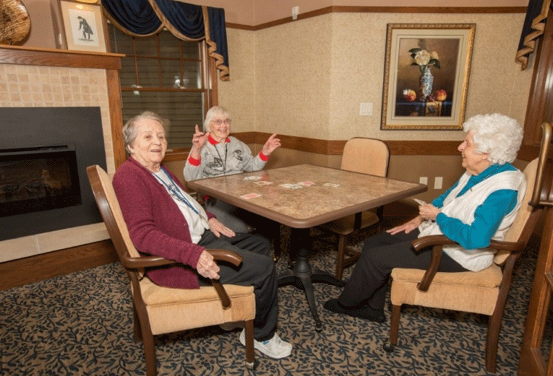 Weston Renaissance Assisted Living Card Game