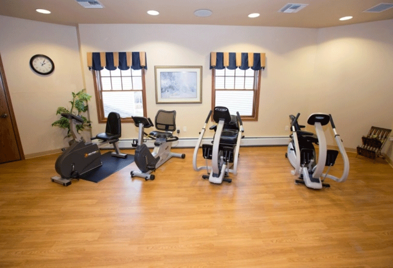 Weston Renaissance Assisted Living Exercise Room