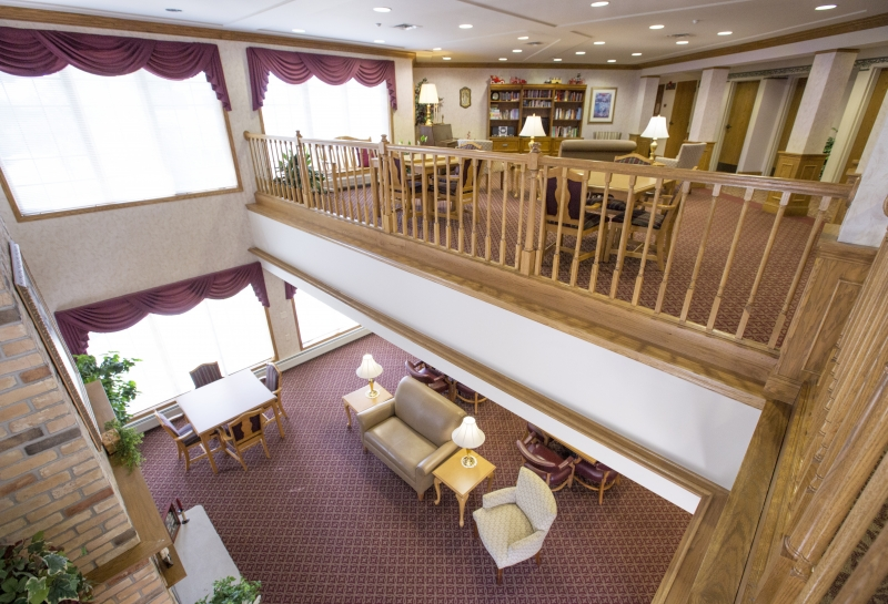 Wisconsin Rapids Renaissance Assisted Living Lounge