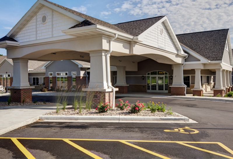 Appleton Rennes Health & Rehab Center Outpatient Therapy Entrance