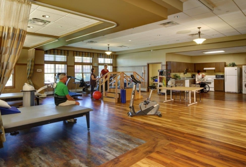 Weston Rennes Health & Rehab Center Therapy Gym 3