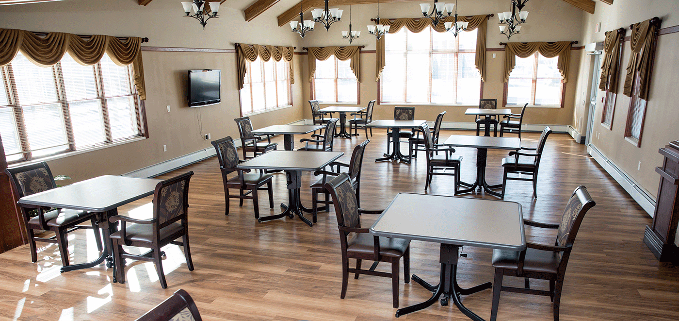 De Pere Rennes Health & Rehab Center Dining Room