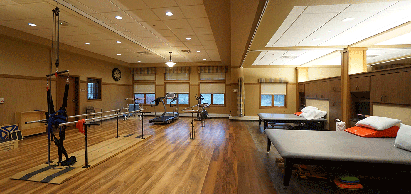 Weston Rennes Health & Rehab Center Therapy Gym 2